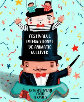 Festivalul Internaţional de Animaţie GULLIVER 2019, Teatrul de Papusi Gulliver, Galati