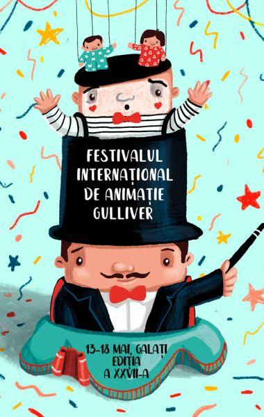 Festivalul Internaţional de Animaţie GULLIVER 2019, Teatrul de Papusi Guliver Galati
