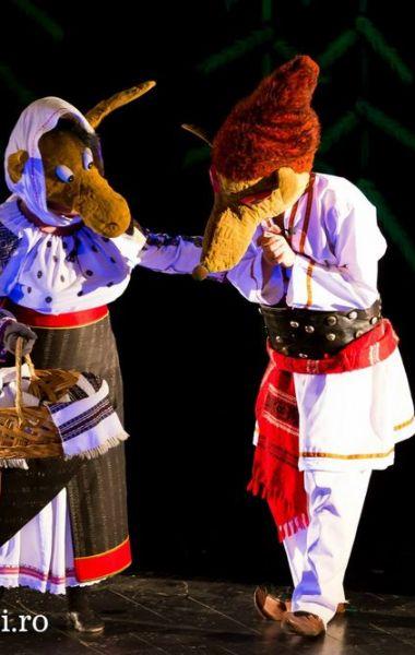 Capra cu trei iezi, spectacol gratuit în zona P-urilor spre Elice, Teatrul de Papusi Guliver Galati