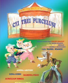 Cei Trei Purceluși, Teatrul de Papusi Gulliver, Galati