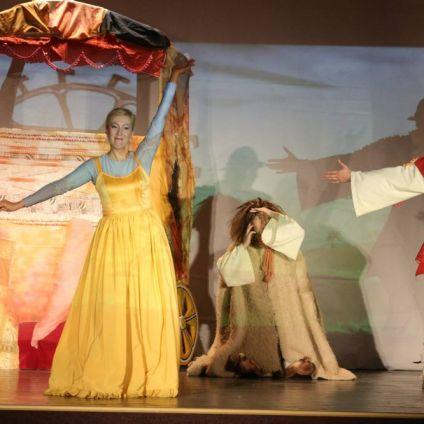 VASILACHE, MĂRIOARA ŞI INVITAŢII , Teatrul de Papusi Gulliver Galati